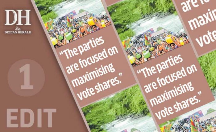 Mahadayi: political game for Cong, BJP