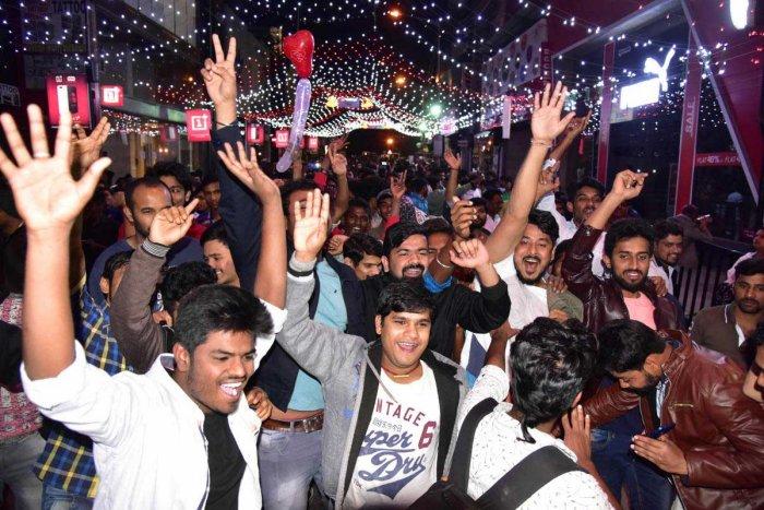 Celebration fizzles out amid tight surveillance