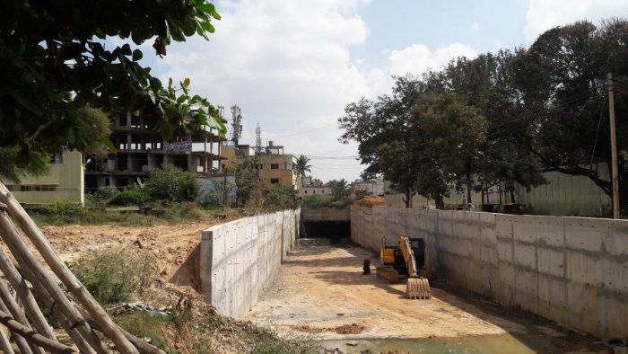 Incomplete underpass leaves Kodigehalli virtually cut off