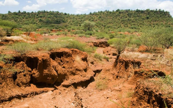 Mapping the gradual erosion of soil