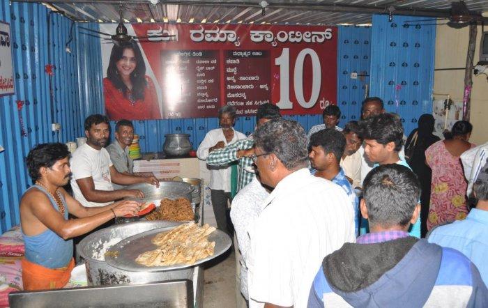 In poll season, It's raining canteens in Mandya