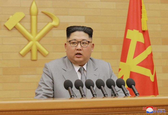 Nuclear button is on my table, warns Kim