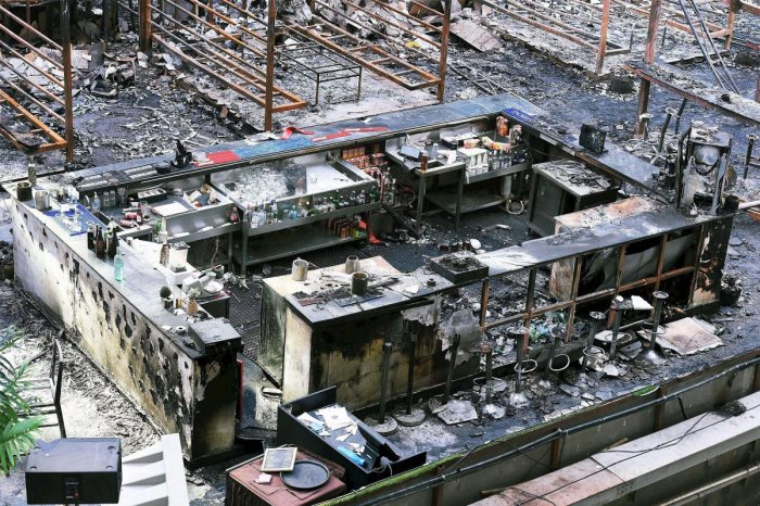 Pub fire: police record statement of ex-IPS officer's son