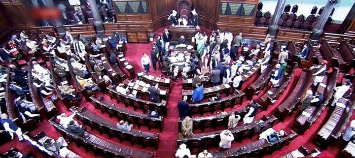 Rajya Sabha creates record