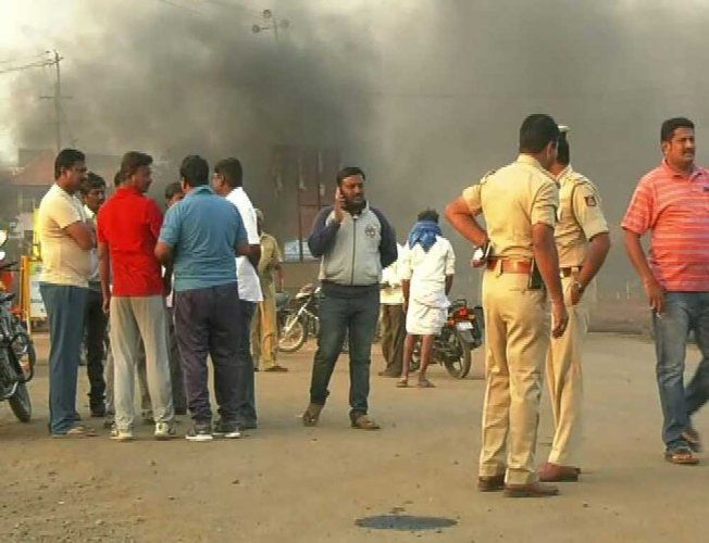 Mahadayi: BJP workers block highway to protest Goa Cong's stand