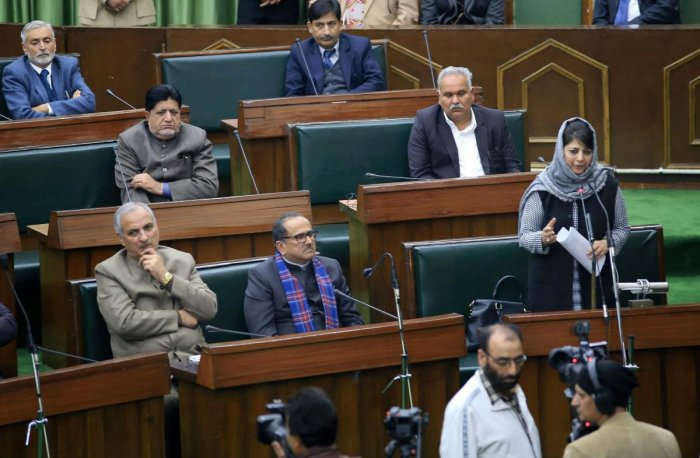 J&K Assembly rocked over civilian killings, NC, Cong walk out