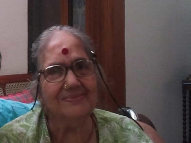 Carnatic vocalist Radha Vishwanathan daughter of MS passes away
