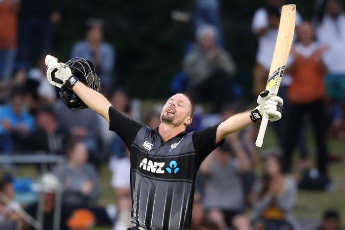Munro blasts record century as NZ crush Windies