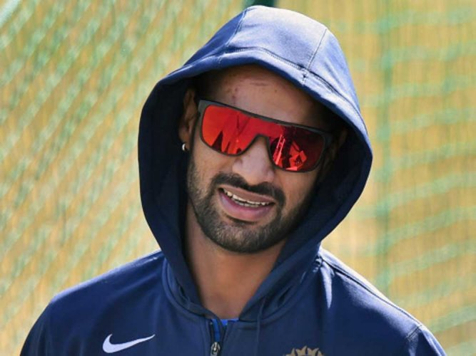 Dhawan fit for first Test; Jadeja down with viral fever