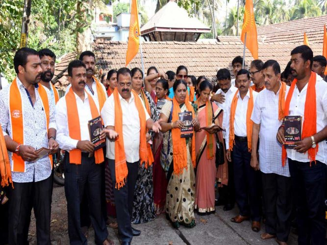 Hindu outfits hold rally against 'Love Jihad'