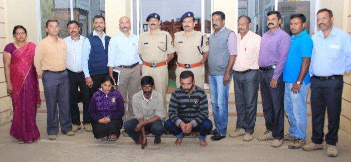 Three arrested for Ranju Poovaiah's murder