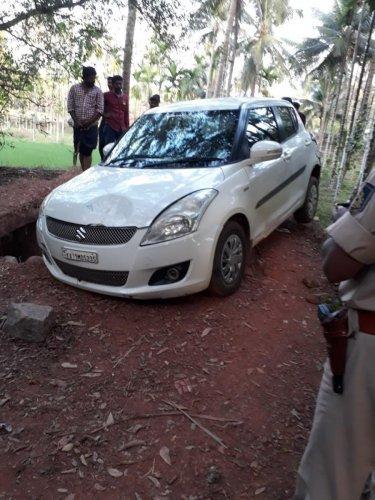BJP worker's murder: Cops fire at car, nab 4