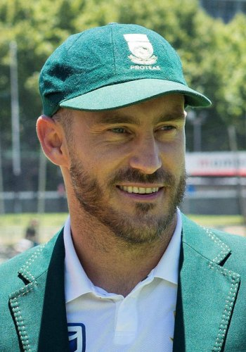 We have a score to settle: Faf
