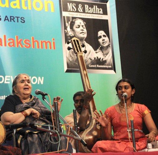Radha, stepdaughter of M S Subbulakshmi, dies