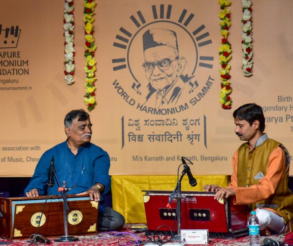 World Harmonium Summit opens with series of solos
