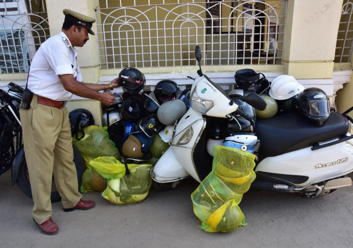 Wear ISI-branded helmets while riding or pay fine