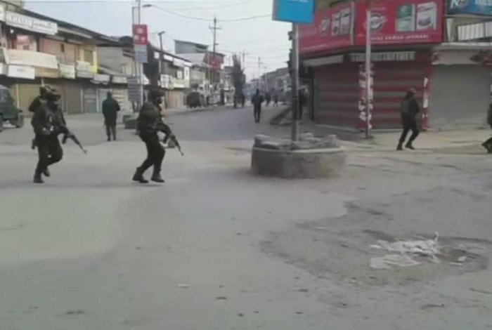 Four policemen killed in IED blast in J&K
