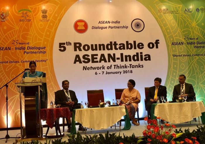 Swaraj holds talks with ASEAN secretary general