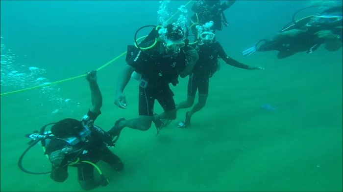 Finding hope in diving courses