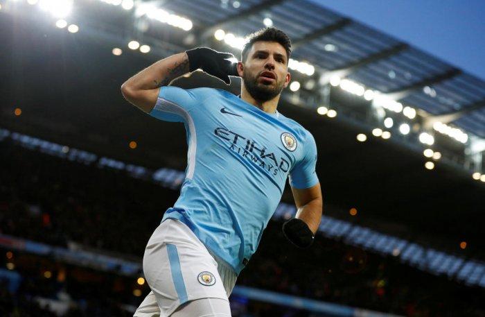 Aguero fires City's FA Cup bid
