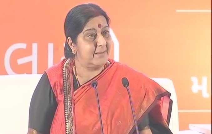 Indian diaspora a platform for stronger ties with ASEAN:Swaraj