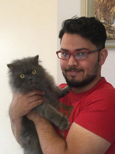 Meet the meow kid on the block