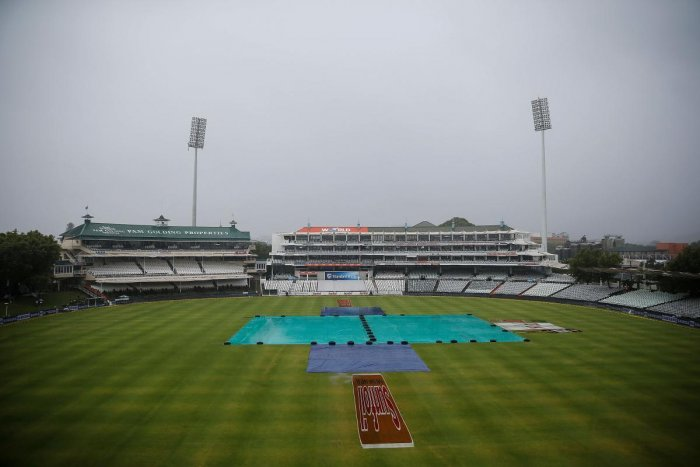 Morning session washed out at Newlands