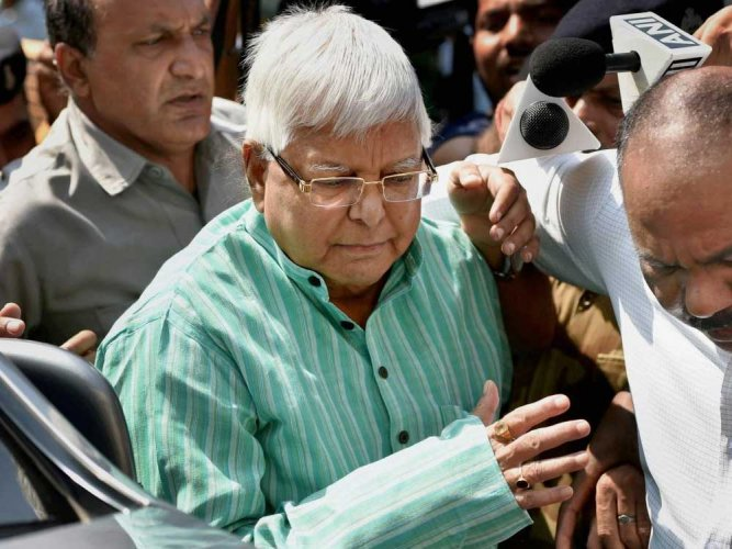 Lalu may seek parole to attend only sister's last rites