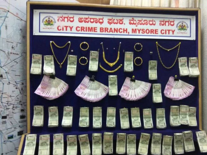 CCB police nab thief; recover cash, gold