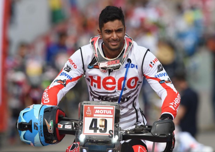 Santosh completes gruelling stage two