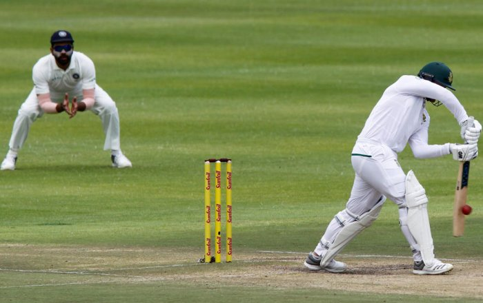South Africa all out for 130, India set 208-run target