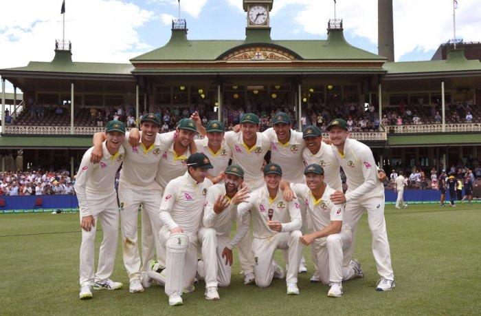 Australia complete dominant 4-0 rout