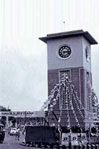 Iconic Clock Tower at Hampankatta to be rebuilt