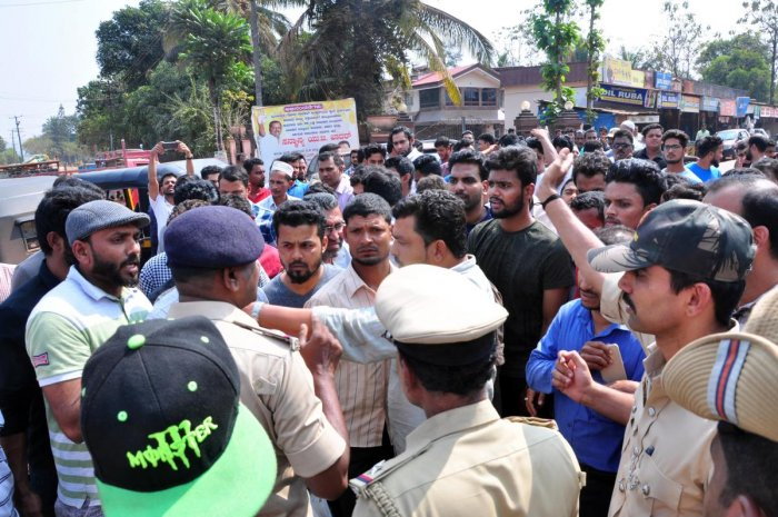 Two held for plotting communal disturbance