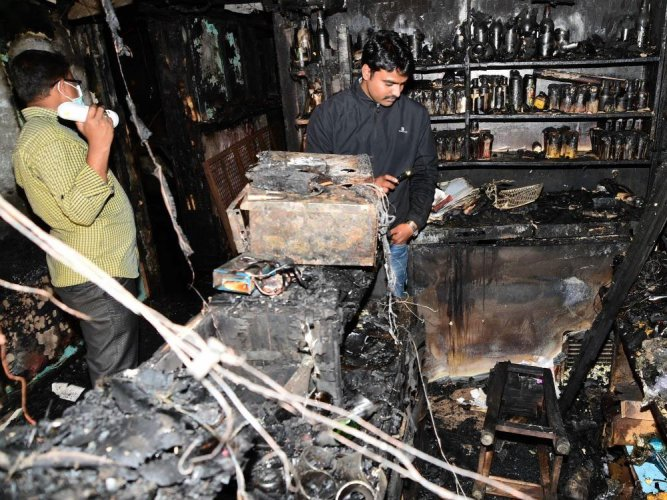 Kailash Bar: What caused the fire?