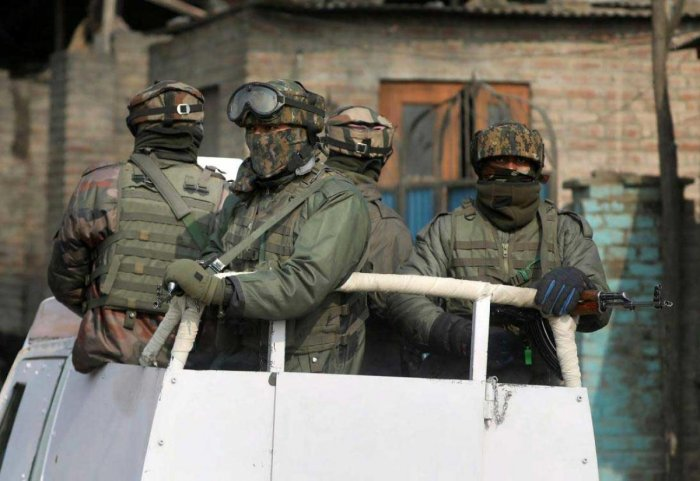 Two local militants killed in Anantnag encounter
