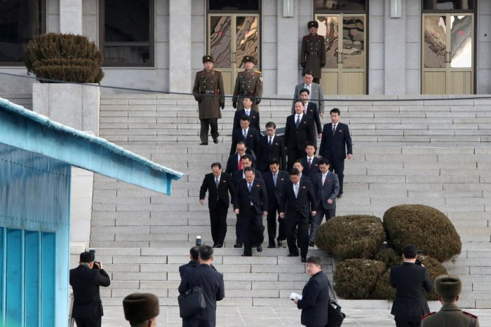 N Korea offers to attend Olympics in talks with South