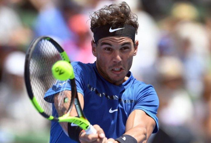 Nadal beaten but says knee feels fine