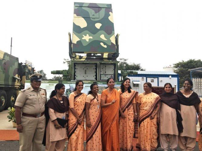 Nirmala Sitharaman visits BEL