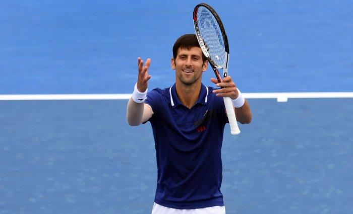 Djokovic back with a bang