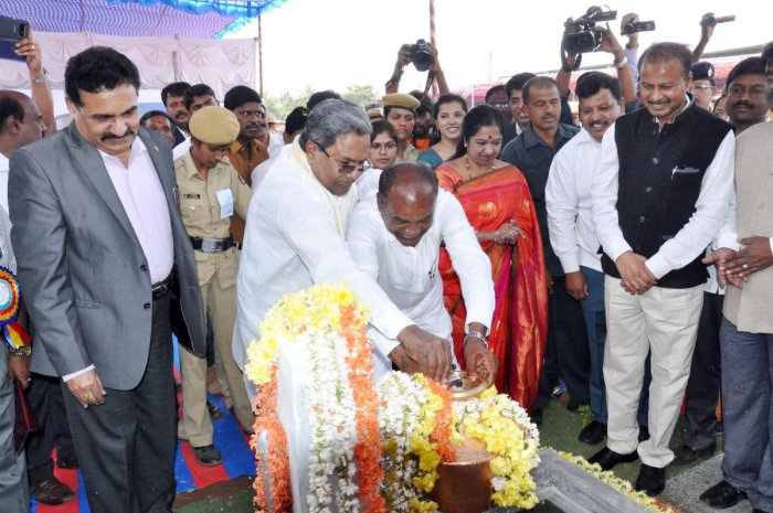 CM announces taluk status for Hanur; launches water project