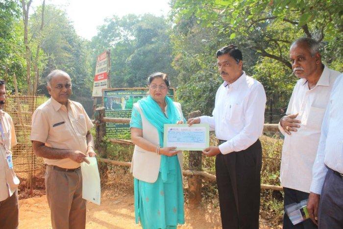 KIOCL adopts Pilikula tigress