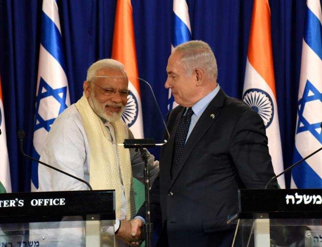 Netanyahu to hold roadshow with Modi in Ahmedabad