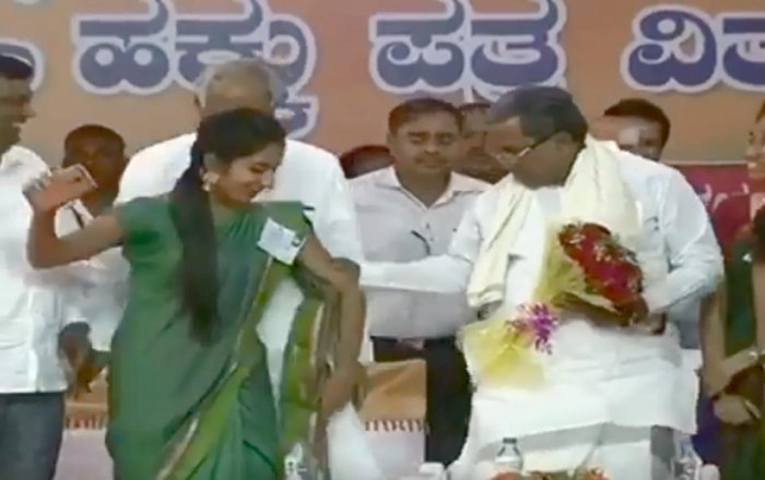 Video of CM pulling woman by hand goes viral