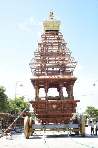 55-feet tall chariot to debut in famed Suttur Jatre