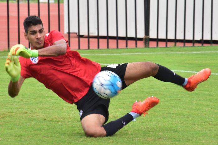 Team-work is the key for goalkeeper Gurpreet