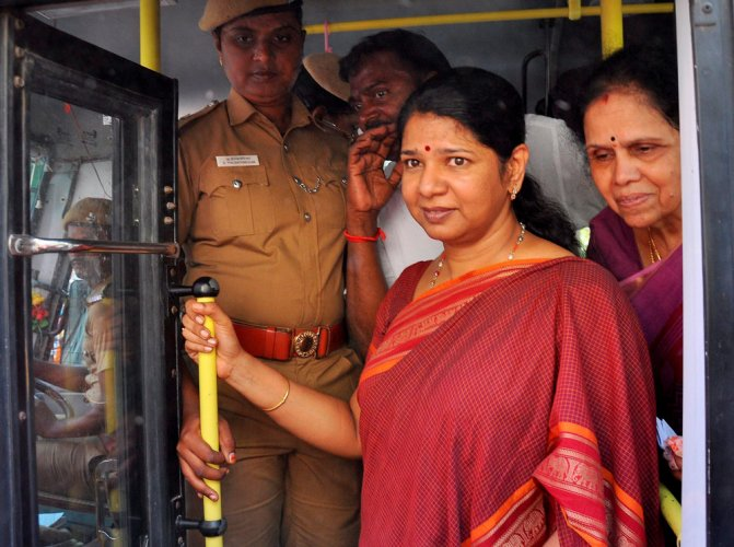 Action sought against Kanimozhi for her comments on Lord Venkateswara