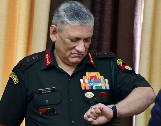 India can call Pak's nuclear bluff: Army chief