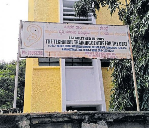 Institute for physically challenged to lose building