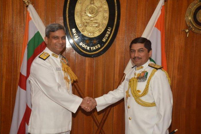 Rear Admiral Sandeep Naithani takes charge as Naval Dockyard chief in Mumbai